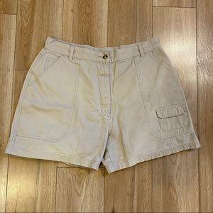 Woolrich Cargo Shorts Beige Size 16